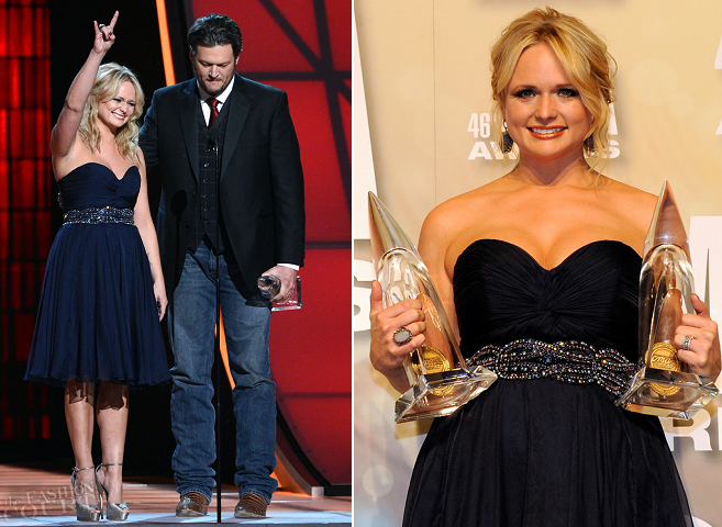 Miranda Lambert in Jovani | CMA Awards 2012