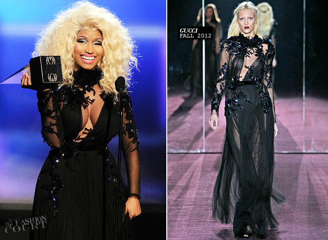 Nicki Minaj in Gucci | 2012 American Music Awards