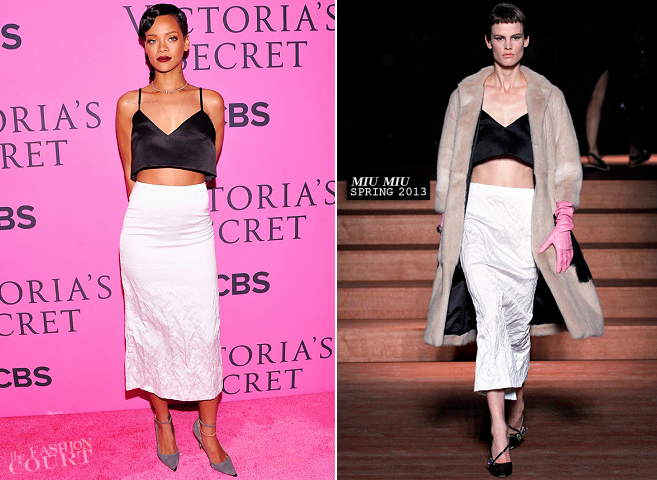 Victoria's Secret Fashion Show 2012: Rihanna in Miu Miu, Adam Selman and Vivienne Westwood!