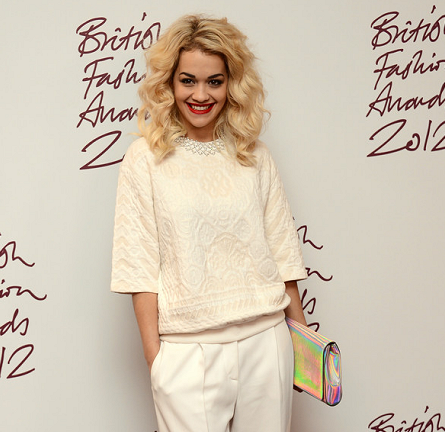 Rita Ora in Stella McCartney | British Fashion Awards 2012