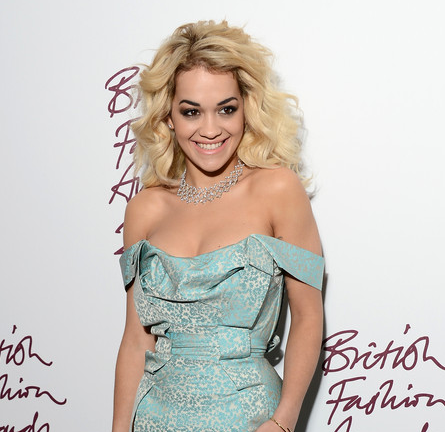 Rita Ora in Vivienne Westwood | British Fashion Awards 2012