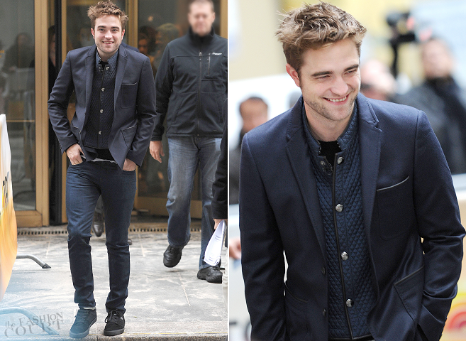 Robert Pattinson in Burberry | NBC's 'Today' Show