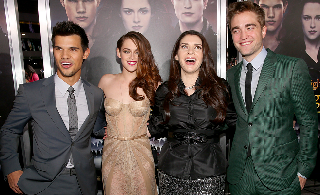Robert Pattinson in Gucci | 'The Twilight Saga: Breaking Dawn - Part 2' LA Premiere