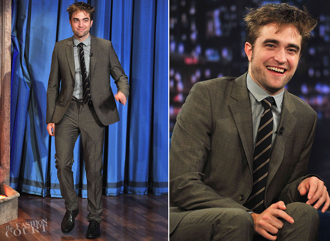 Robert Pattinson in KENZO | 'Late Night with Jimmy Fallon'