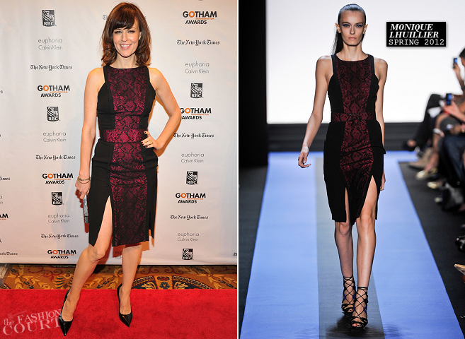 Rosemarie DeWitt in Monique Lhuillier | Gotham Independent Film Awards 2012