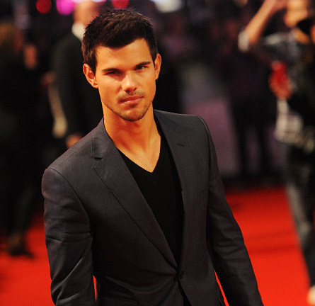 Taylor Lautner in Z Zegna | 'The Twilight Saga: Breaking Dawn - Part 2' London Premiere