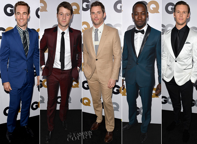 GQ Men of the Year: Top 10 Best Dressed Men