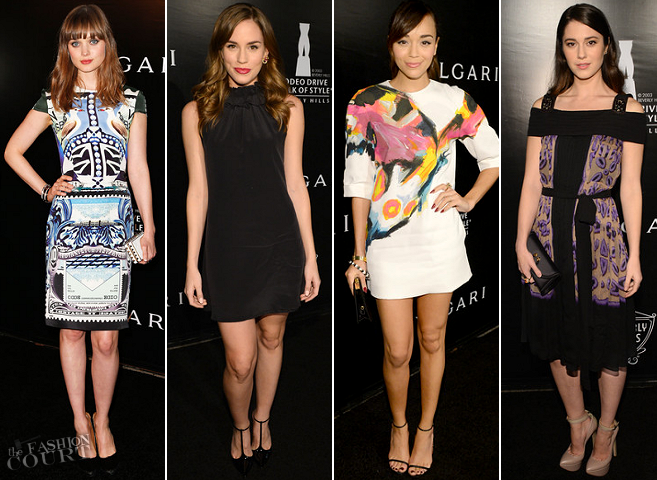 Rodeo Drive Walk of Style Honoring BVLGARI: Who Was Best Dressed?