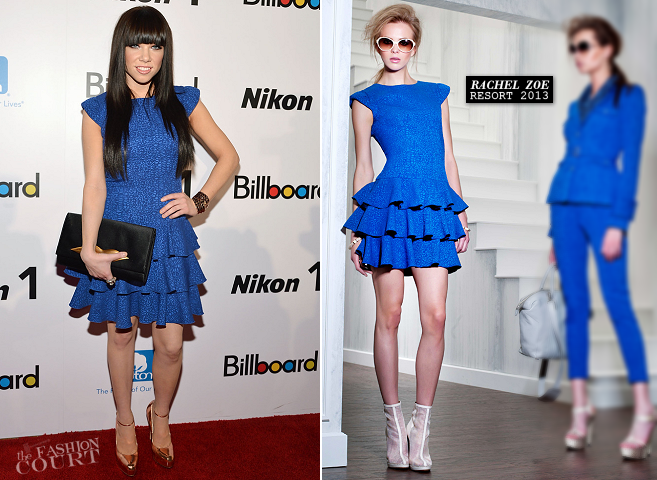 Carly Rae Jepsen in Rachel Zoe | 2012 Billboard Women In Music Luncheon