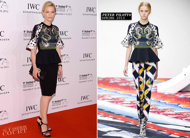 Cate Blanchett in Peter Pilotto | IWC Filmmaker Award Gala - 2012 Dubai International Film Festival