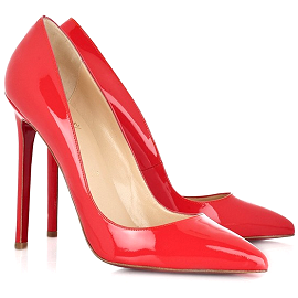 Christian Louboutiun Neon PIGALLE Pointed Toe Pumps