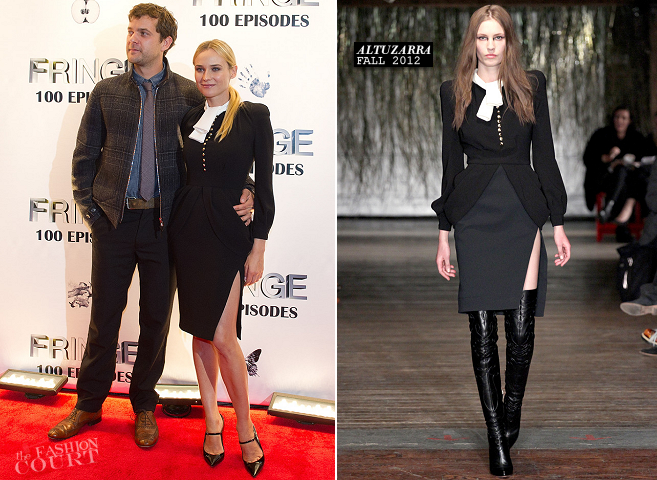 Diane Kruger in Altuzarra | 'Fringe' 100th Episode & Final Season Celebration