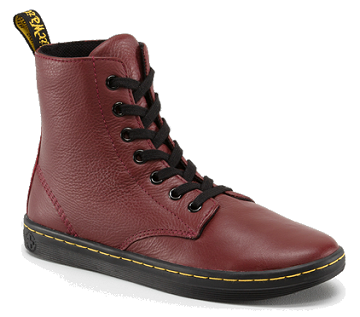 Dr. Martens LEYTON Leather Sneakers (Larger Size)
