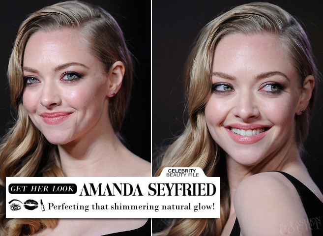 Get Amanda Seyfried's Shimmering Natural Glow from the 'Les Misérables' World Premiere!