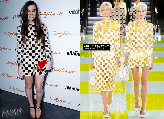 Hailee Steinfeld in Louis Vuitton & Versus | Sweet 16 Celebration