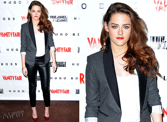 Kristen Stewart in BCBG, A.L.C. and H&M | 'On The Road' Vanity Fair Screening Series V.I.P. Screening