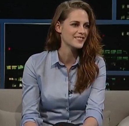 Kristen Stewart in Christian Dior & A.L.C. | 'The Tavis Smiley Show'