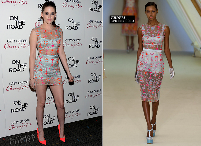 Kristen Stewart in Erdem | 'On The Road' New York Premiere