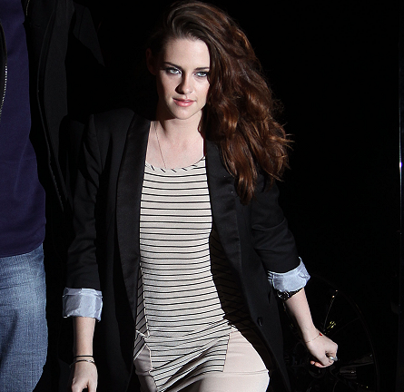 Kristen Stewart in Finders Keepers & Boy. by Band of Outsiders | 'The Daily Show with Jon Stewart'