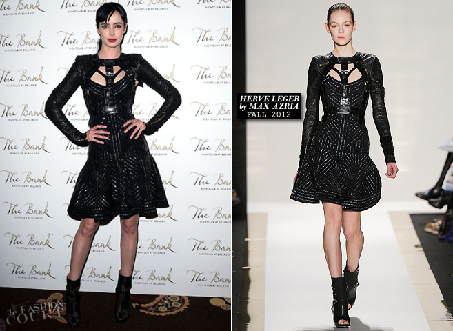 Krysten Ritter in Herve Leger | 31st Birthday Celebration in Las Vegas