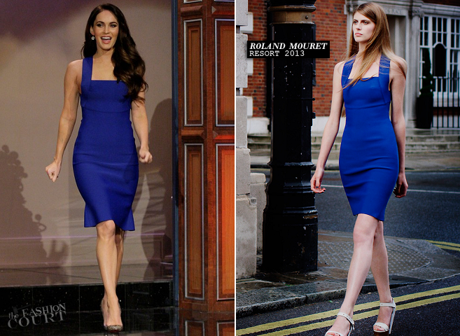 Megan Fox in Roland Mouret | 'The Tonight Show with Jay Leno'