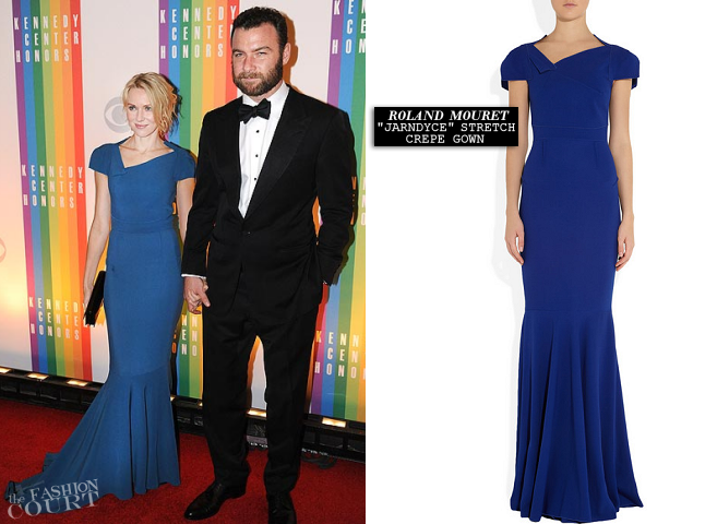 Naomi Watts in Roland Mouret | Kennedy Center Honors 2012