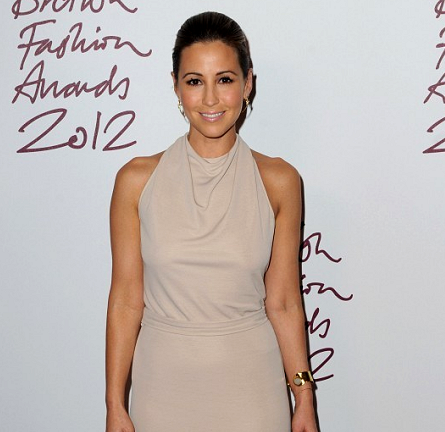 Rachel Stevens in Halston Heritage | British Fashion Awards 2012