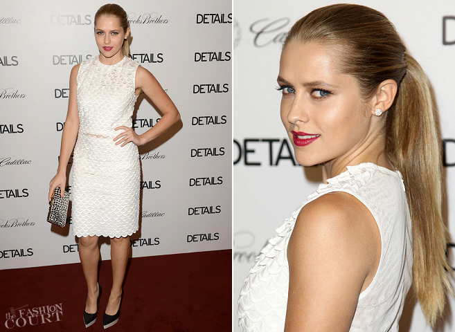 Teresa Palmer in Stella McCartney | DETAILS Hollywood Mavericks Party