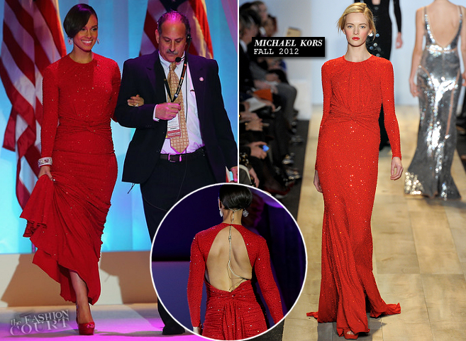 Alicia Keys in Michael Kors | President Barack Obama's Inaugural Ball 2013