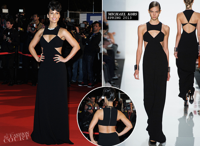 Alicia Keys in Michael Kors | 2013 NRJ Music Awards