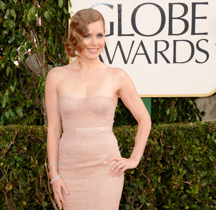 Amy Adams in Marchesa | 2013 Golden Globes