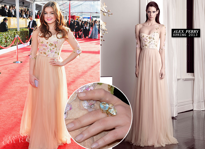 Ariel Winter in Alex Perry | 2013 SAG Awards