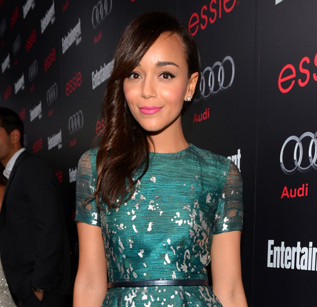 Ashley Madekwe in Monique Lhuillier | Entertainment Weekly Pre-SAG Party