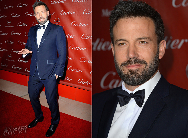 Ben Affleck in Gucci | Palm Springs International Film Festival Awards Gala 2013