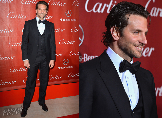 Bradley Cooper in Tom Ford | Palm Springs International Film Festival Awards Gala 2013