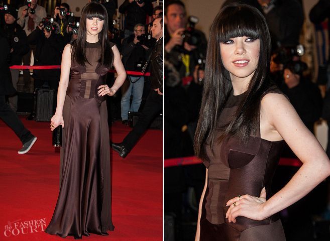 Carly Rae Jepsen in IZMAYLOVA | 2013 NRJ Music Awards