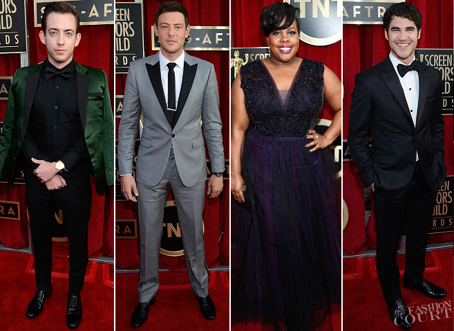 2013 SAG Awards: The Cast of 'GLEE' Hits Some High Notes