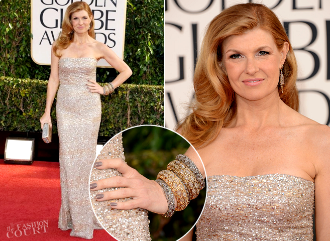 Connie Britton in Kaufmanfranco | 2013 Golden Globes