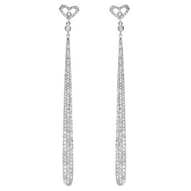 Demarco Diamond Heart Earrings