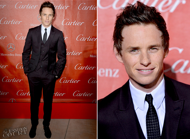 Eddie Redmayne in Topman | Palm Springs International Film Festival Awards Gala 2013