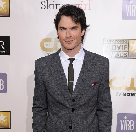 Ian Somerhalder in Dolce & Gabbana | 2013 Critics' Choice Movie Awards