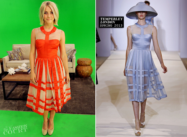 Julianne Hough in Temperley London | 'A Night with Nicholas Sparks' Safe Haven'