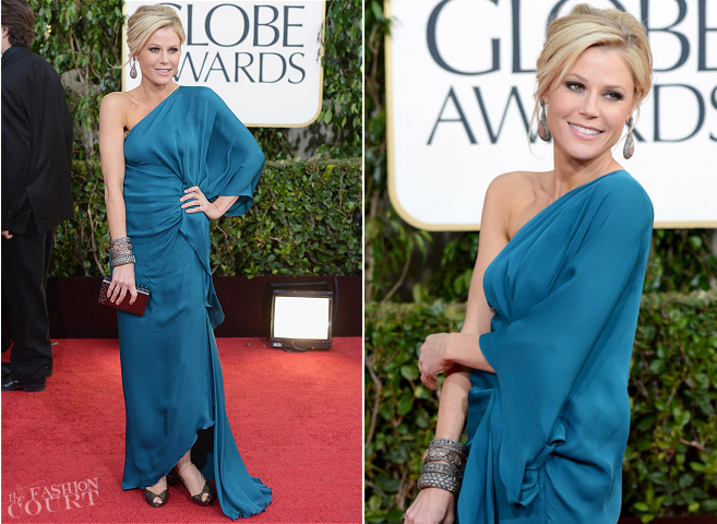 Julie Bowen in Halston | 2013 Golden Globes