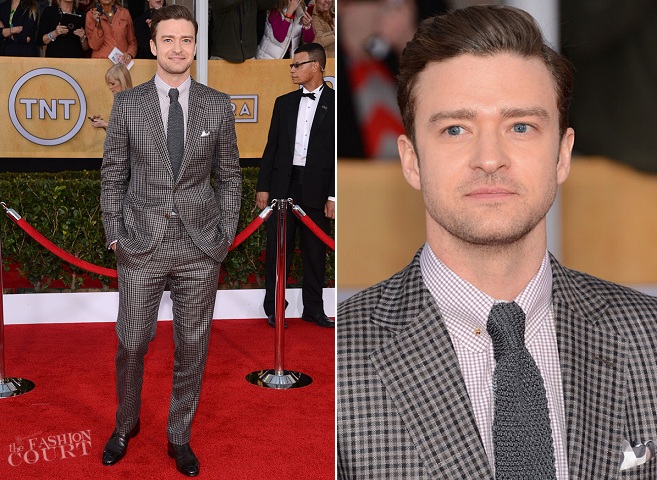 Justin Timberlake in Tom Ford | 2013 SAG Awards