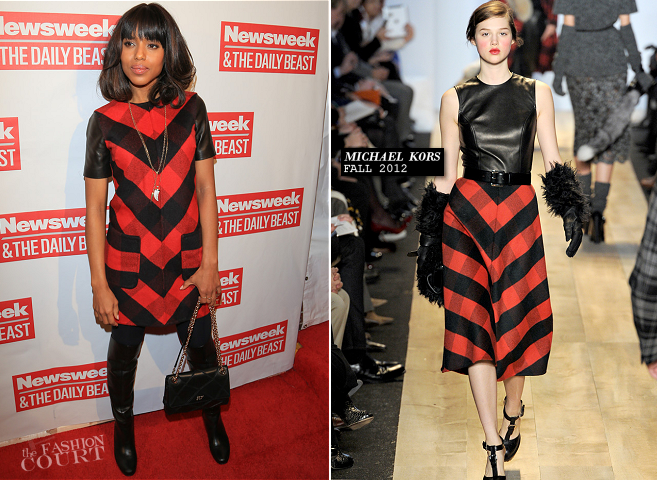 Kerry Washington in Michael Kors | The Daily Beast Bi-Partisan Inauguration Brunch