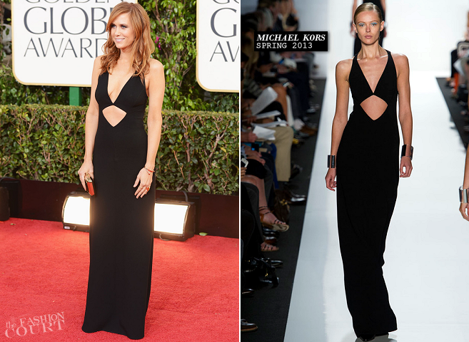 Kristen Wiig in Michael Kors | 2013 Golden Globes