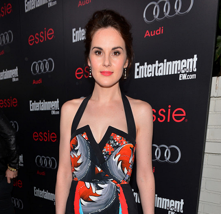 Michelle Dockery in Peter Pilotto | Entertainment Weekly Pre-SAG Party