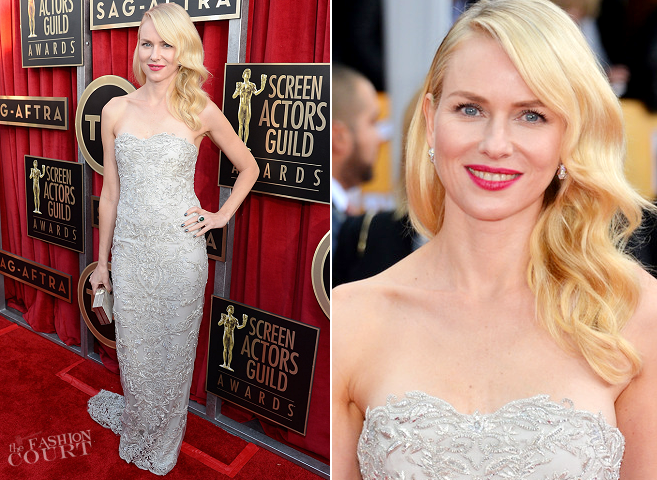 Naomi Watts in Marchesa | 2013 SAG Awards