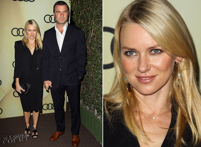 Naomi Watts in Roland Mouret | Audi Golden Globe 2013 Kick Off Party