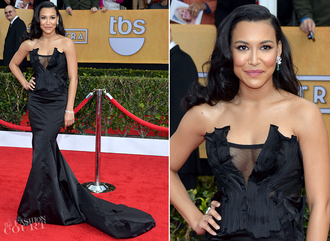 Naya Rivera in Donna Karan Atelier | 2013 SAG Awards